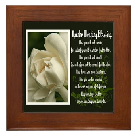 Wedding Blessing Cofe by Traditional Apache Wedding Blessing Framed Tile By Photographz