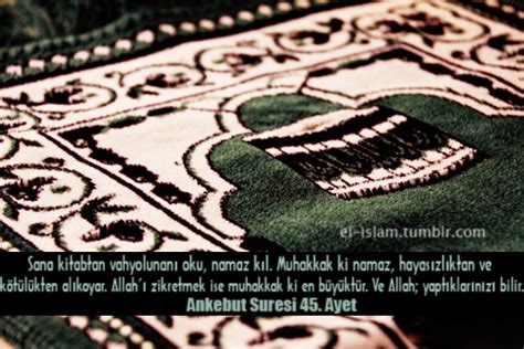 Sajadah Kharisma Prayer Rug 07 ankebut suresi 45 ayet el 箘slam