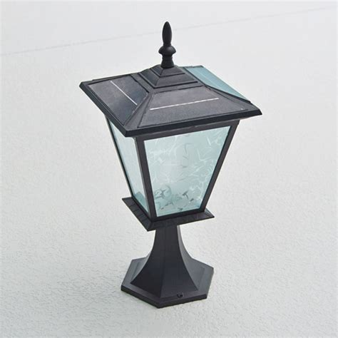 Solar Pillar Light Galaxy Pillar Or Column Mount Solar Light By Free Light