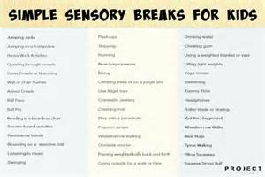 sensory diet template adhd archives the healing path with children