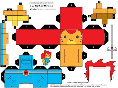 Hello Papercraft Template - 120 best images about cubeecrafts paper toys on