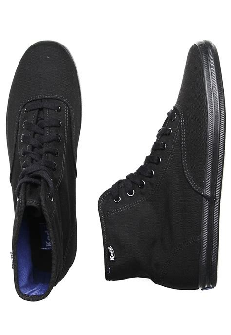 keds chion high black black shoes impericon