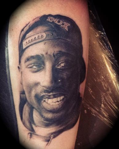 2pac tattoos picture of 2pac i tattooed recently oklahoma city ink