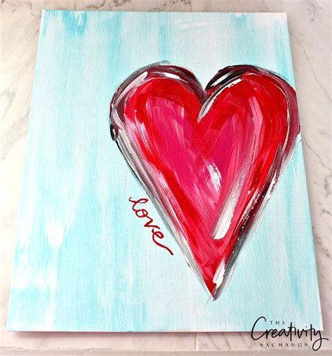 watercolor heart tutorial best 25 heart painting ideas on pinterest hearts