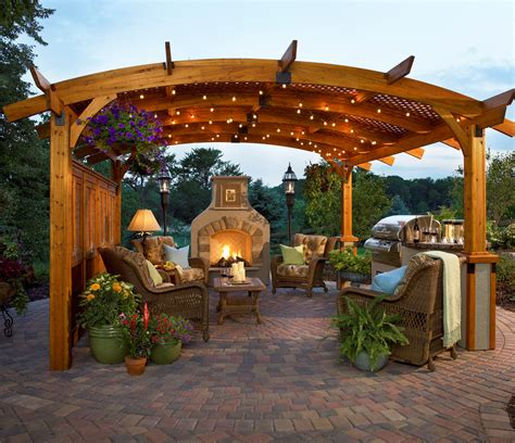 great outdoor room company 10 pergola kits that will greatly enhance your outdoor