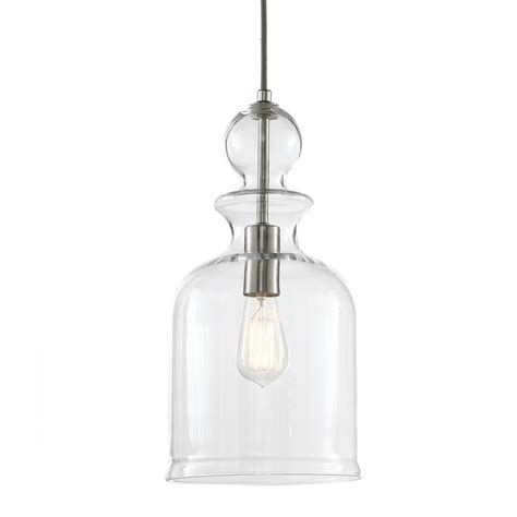 Nickel Pendant Light by Home Decorators Collection Paula 1 Light Hardwire Brushed Nickel Pendant With White Nickel Shade