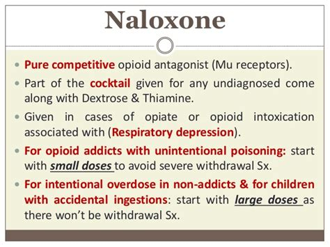 How To Detox From Vitamin B6 Overdose by Management Protocol For Opiates Opiods Intoxication