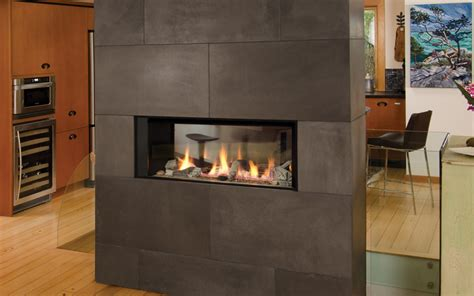 See Thru Gas Fireplace Inserts by Valor L1 Linear See Thru Fireplace Friendly