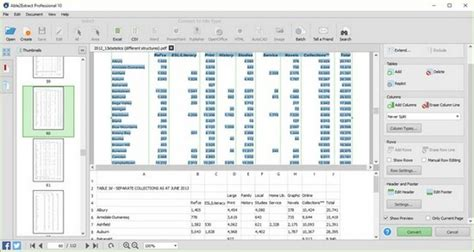 Converting Pdf To Excel Spreadsheet by Convert Pdf To Excel Spreadsheet Free Buff