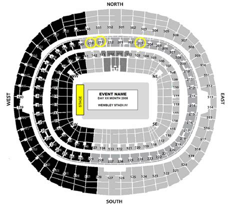 wembley stadium floor plan unreserved seating wembley london message board
