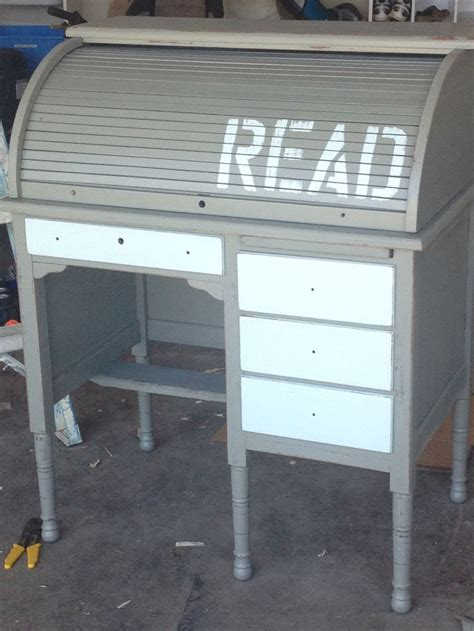 Roll Top Desk Redo by 1000 Images About Desk Vanity On Milk Paint