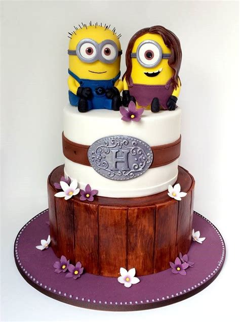 Unique Cakes by Minion Wedding Cake Made By Unique Cakes By