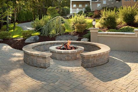 patio and firepit retainer wall and decorative wall photo gallery