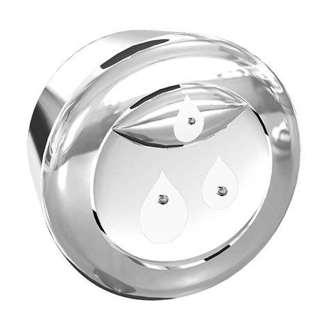hyr370 hydroright 174 replacement button in chrome danco