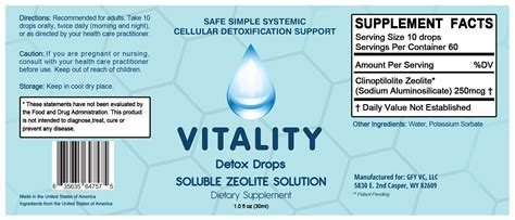 Rna Drops Detox Symptoms by Vitality Detox Drops