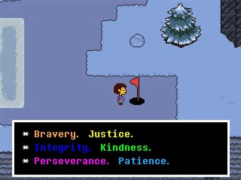 blue ending meaning justice soul undertale amino