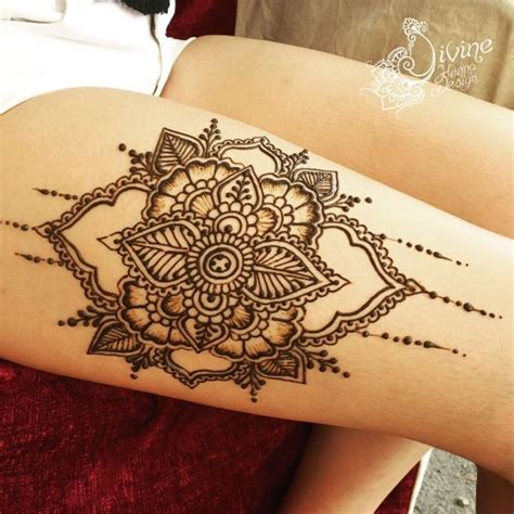 thigh henna tattoo 25 best ideas about thigh henna on sun moon