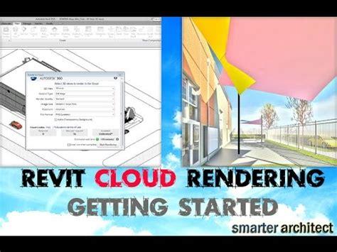 revit tutorial getting started revit rendering i getting started in autodesk 360