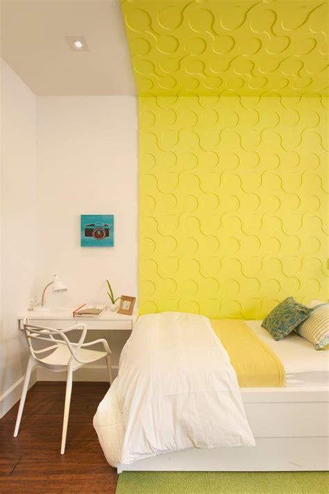 decorar pared amarilla dormitorios juveniles 100 ideas para tu adolescente