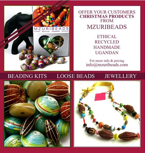 mzuribeads ethical ugandan beads october 2010