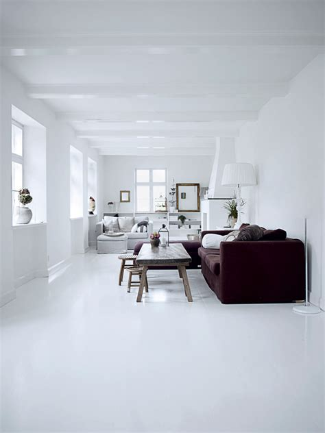 white house interior all white interior design of the homewares designer home digsdigs