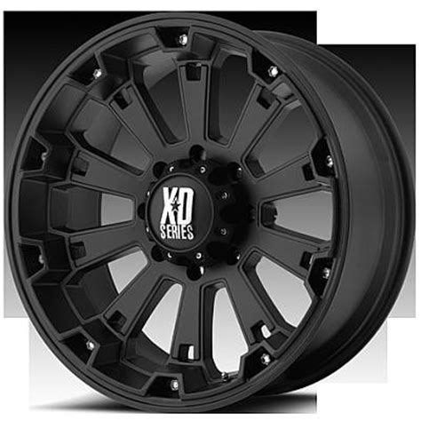 Galerry kmc xd series wheels rockstar matte black