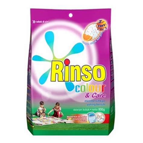 Rinso Molto Detergen Bubuk 800gr by Rinso Color Care Detergent 800gr