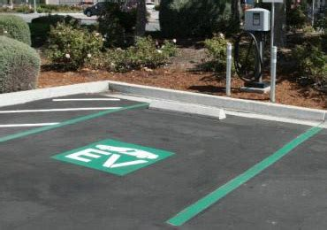 Electric Vehicle Charging Stations Akron Parking Lot Lines Quotes