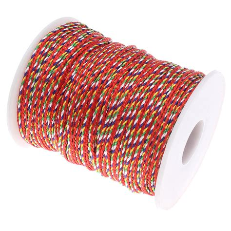 colored rope colored cord