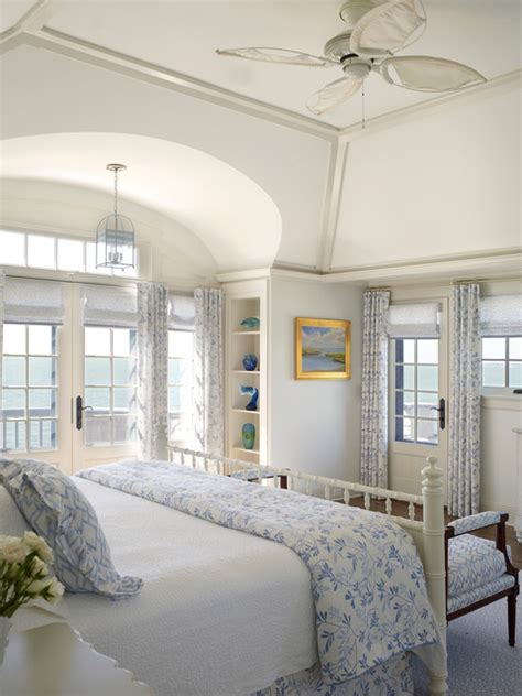 Coastal Bedroom Ideas Nautical House On The Bay Htons Style Bedroom New York By Patterson