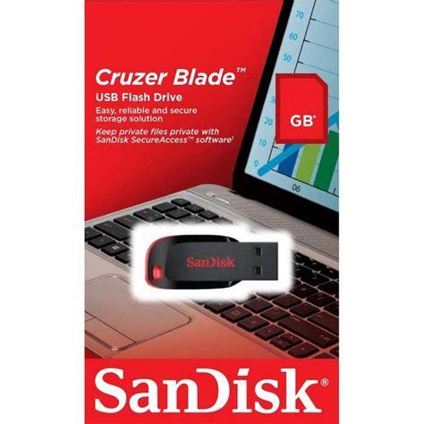 Sandisk Cruzer Blade Usb Flash Drive 8gb Hitam sandisk cruzer blade usb flash drive 8gb sdcz50 008g e11 jakartanotebook