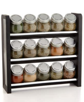 Square Spice Rack Martha Stewart Collection Square Stainless Steel Spice