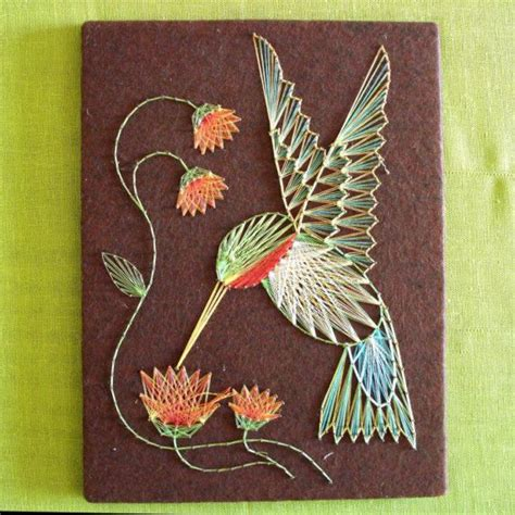 String Flower Patterns - string hummingbird and flowers flower and patterns