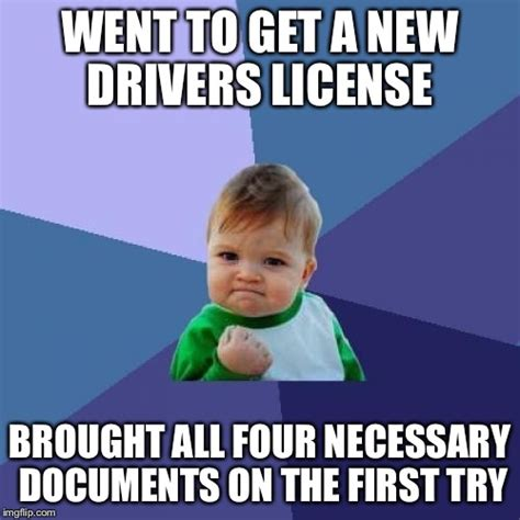 New Driver Meme - this is usually a three try process imgflip