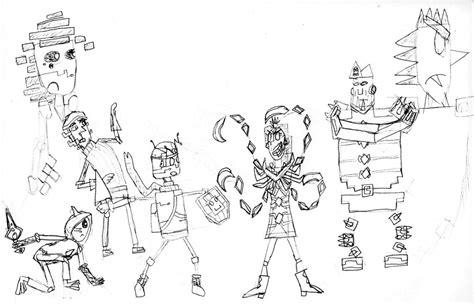 Doodle Of Cast By Robotnikholmes On Deviantart