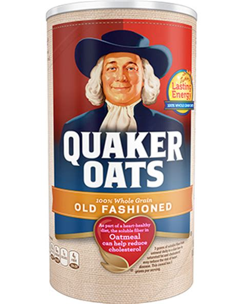 product cereals old fashioned quaker oats
