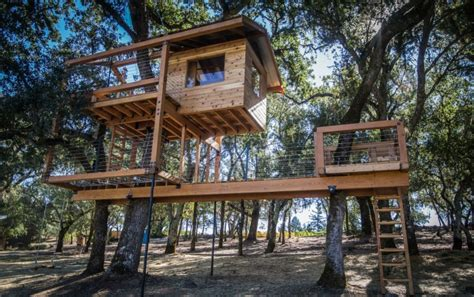 american boat trailer rental ta before after a two story treehouse in calistoga