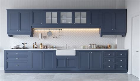blue grey kitchen cabinets 30 gorgeous grey and white kitchens that get their mix right