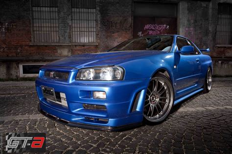 nissan gtr skyline fast and furious nissan skyline gt r 34 fast furious 4 cars