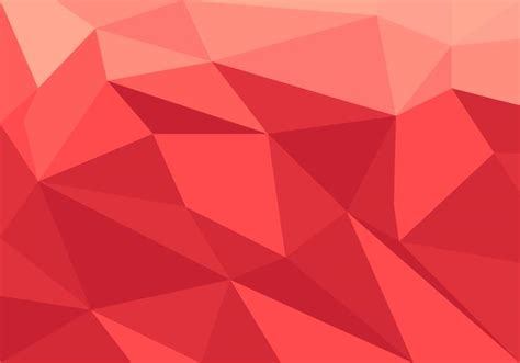 pattern low poly vector red low poly vector download free vector art stock