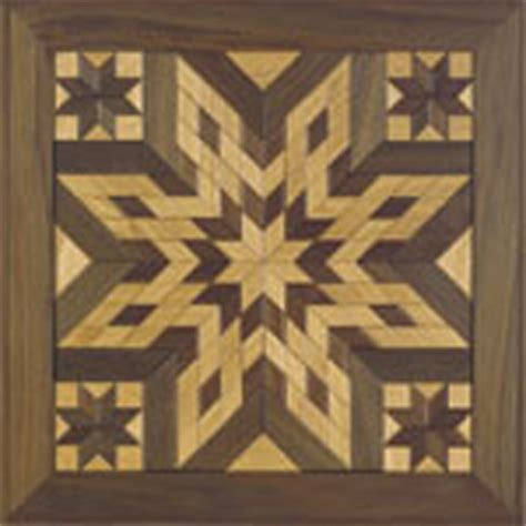 wooden quilt square  woodcraft pattern