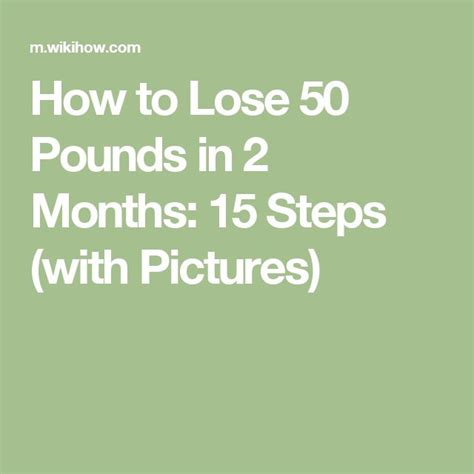 How To Shed Weight In A Month by Lose 50 Pounds In 2 Months Fitness Programs To Lose And