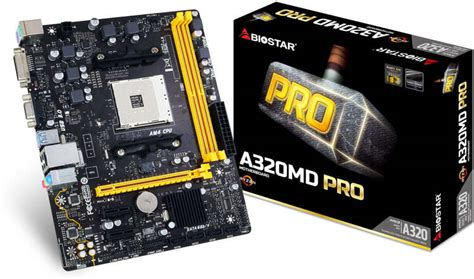 Biostar A320mh Pro Ddr4 Socket Am4 biostar anuncia sus nuevas placas base am4 a320 pro series