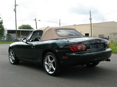 auto air conditioning repair 2001 mazda mx 5 security system sell used 2001 mazda miata ls convertible 2 door 1 8l outstanding condition in gainesville