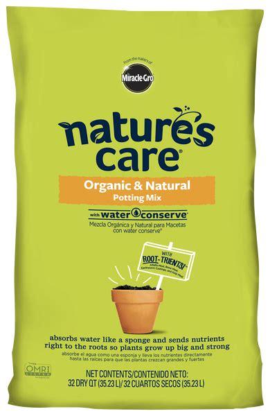 natures care organic potting mix  water conserve
