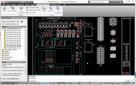 autocad electrical templates generate plc i o drawings from spreadsheets autodesk