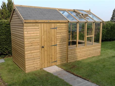 Sheds A Light by Greenhouse Garden Shed Combination Halbc