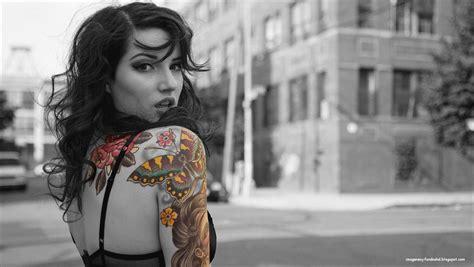 tattoo en hd im 225 genes y fondos hd mujer con tatuaje