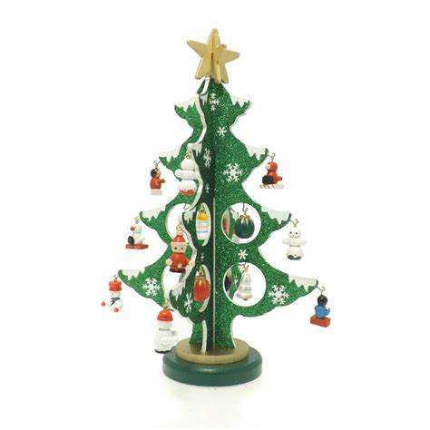 buy wooden decorative christmas tree