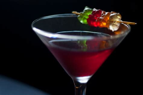 7 Great Martini Recipes by Easy Gummy Martini Vodka Cocktail Recipe